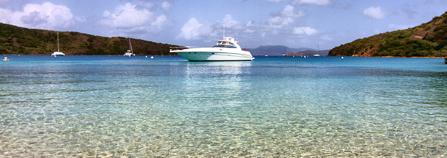 Explore paradise with Caribbean boat charters - True Blue Power Boats
